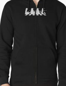 Exterminate Abbey Road Zipped Hoodie