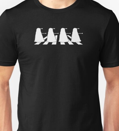 Exterminate Abbey Road Unisex T-Shirt