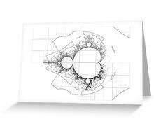 Mandelbrot series I Greeting Card