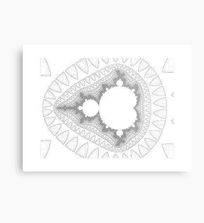 Mandelbrot series IV Metal Print