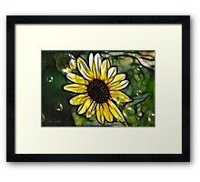 Sunshine Bright Framed Print