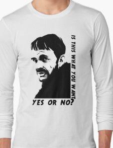 Lorne Malvo question Long Sleeve T-Shirt