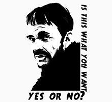 Lorne Malvo question Unisex T-Shirt