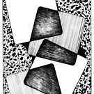 Pen and Ink Drawing + Shapes + Lines by Danielle Scott