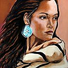 The Native American Woman by Susan Bergstrom