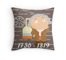 James Watt Throw Pillow