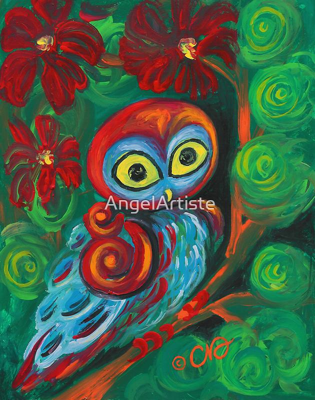 The Modern Owl by AngelArtiste