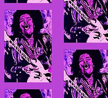 Jimi Hendrix 1 - Design 3 by Kevin J Cooper
