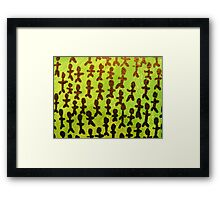 Problems Problems Problems (Abstract Macro) Framed Print