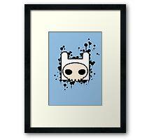 Finn Skull Framed Print