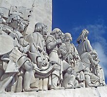 Monument to the Discoverers, Lisbon by John  Lambert