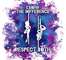 Know the Difference, Respect Both by BOMBSHELLDESIGN
