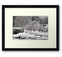 New Fallen Framed Print