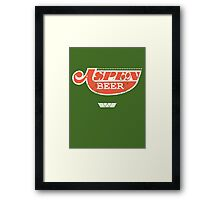 Aspen beer from Alien Framed Print
