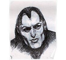 Gothic Man Sketch Poster