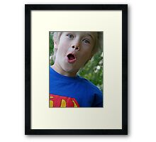 Superman! Framed Print