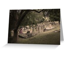 Mourning Spectre Greeting Card