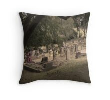 Mourning Spectre Throw Pillow