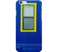 Blue Wall and a Window iPhone Case/Skin