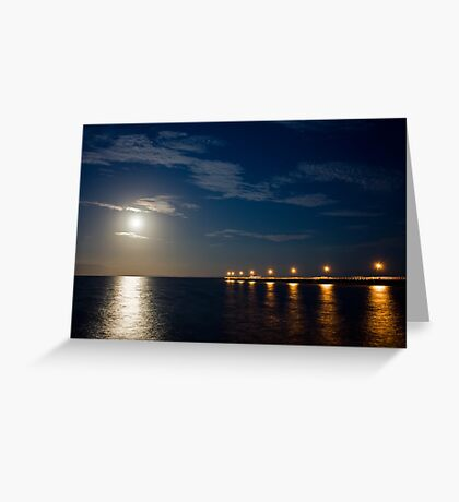 Tranquil Moonlight Greeting Card