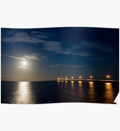 Tranquil Moonlight Poster