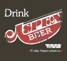 Aspen Beer Promo shirt by w1ckerman