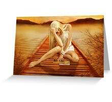 Picture Postcard World Greeting Card