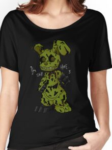 FNAF 3 Springtrap Women's Relaxed Fit T-Shirt