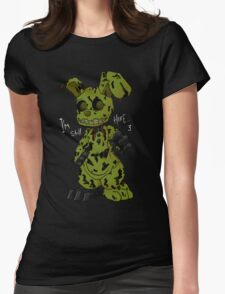 FNAF 3 Springtrap Womens Fitted T-Shirt