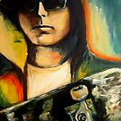 Skateboarder M by Midori Furze