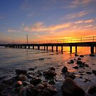 Speers Point Sunset by Mark Snelson