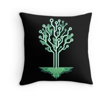 Tree of Technological Knowledge Throw Pillow