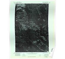Maine USGS Historical Map Winterville SE 807319 1975 24000 Poster