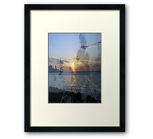 Memories of the Malecon Framed Print