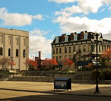Downtown Sandusky Ohio by SRowe Art