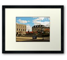Downtown Sandusky Ohio Framed Print
