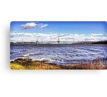 New Forth Crossing - 3 March 2015 Canvas Print