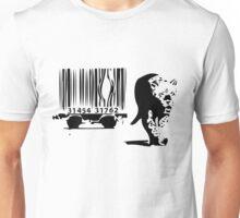 Banksy Print Tiger Barcode Unisex T-Shirt