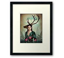 Forest Warrior Framed Print