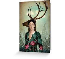 Forest Warrior Greeting Card