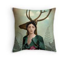 Forest Warrior Throw Pillow