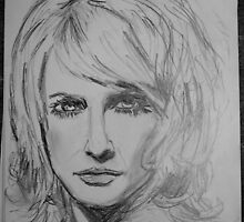 Sketch of a Woman by Rosanna Jeffery