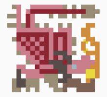Pixel Pink Rathian by skullnuku