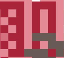 Pixel Pink Rathian Sticker