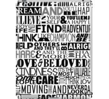 Random Funky Words iPad Case/Skin