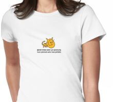 164 Cat Clash Womens Fitted T-Shirt