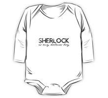 Sherlock is my Holmes Boy redo One Piece - Long Sleeve