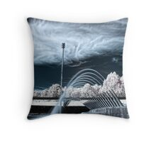 One Crowded Hour Throw Pillow