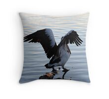 I'm Outta Here!!!! Throw Pillow