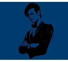 Doctor Who - 11th Doctor (Tardis Blue) Photographic Print